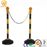 Plastic Guideline Stanchion Delineator Warning Post and Chains