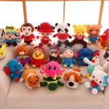 Soft Plush Cartoon Animal Toys for Gift, Stuffed Toys