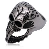 Fashion Men's Skull Ring Jewelry From Factory in China