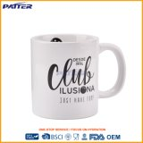 Sublimation Coffee Cup Eco-Friendly Promotionl Custom Color Cheap Porcelain Ceramic Mug
