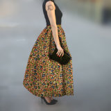 Small Quantity Custom Traditional Wax Print Long African Skirt
