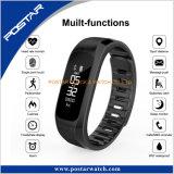 Single Point Touch Calories IP67 Reminder Alarm Pedeometer Smart Watch