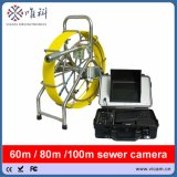 Sewer Drain Pipe Video Inspection Camera with 60m Cable
