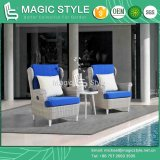 Outdoor Wicker Pneumatic Sofa with Cushion Garden Rattan Gas Sofa Patio Wicker Relax Sofa Leisure Wicker Relax Chair Rattan Gas Sofa