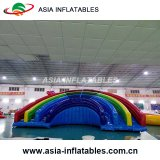 Inflatable The Colours of The Rainbow Slide Combo