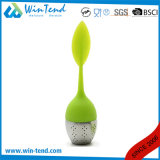 Wholesale Stainless Steel Hotel Restaurant Serving Tea Strainer with Silicone Head