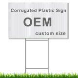 Corrugated Plastic/PP Yard Sign for Advertising, Election, Display, Warning, Traffic and Real Estate