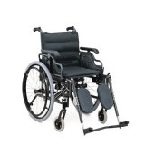 Wholesale Manual Aluminum Wheelchair with Flip-up and Height Adjustable Armrest