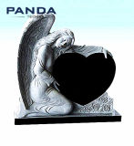 High Quality Blank Granite Marble Angel Tombstone Monuments and Headstones