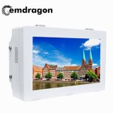 Wall Mount Networking Advertising Monitor 32 Inch Outdoor Wall Mount Advertising Machine Display Advertising Cheap Card Super Slim Advertising TV LED