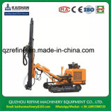 KAISHAN KG320H Dia. 80-105mm 25m deep Crawler Drill Rig With Deduster