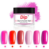 Hot Sale Nail Art New Type Crystal DIP Powder Blue Yellow Color