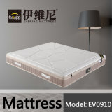 Home Furniture Pocket Spring Latex Foam Fabric Bed Mattress for Wholesale (EV0910)