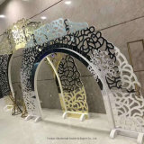 Free Standing Stainless Steel Backdrop Metal Screen