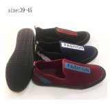 d742aac08e6 Customized Brand Injection Men Flat Shoes Casual Canvas Shoes (ZL194-19)