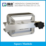 Sanitary Stainless Steel Tank Parts Square Manhole Cover