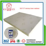 Plush Support Memory Foam Mattress with Bamboo Cover