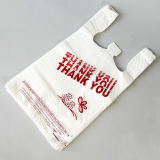 Wholesale High Quality Thank You Plastic Exquisite Shopping Bag