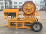 China Movable Rock / Stone/ Ore /Limestone Jaw Crusher