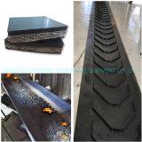 Ep/Nn/Steel/Chevron Industrial Rubber Conveyor Belt