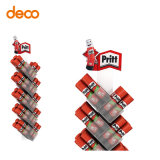 Supermarket Solid Gum Clear Acrylic Displays for Pritt