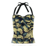 ODM/OEM Latest Designs Woman Tank Top Halter Crop Sexy Club Blouse