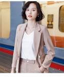 Hot Fashion Classic Elegant Special Slim Fitting Women Ladies Office Business Uniform Formal Suits