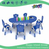 Quality Classroom Furniture Kids Furniture Kids Plastic Table Chair Set (HF-2003)