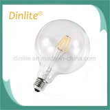 Best quality Clear G125 6W LED filament lamp