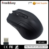 Soft Touch Rubber Coating 6 Buttons Multifunction Wireless Mouse