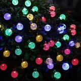20FT 30 LED Crystal Ball for Outdoor Garden Christmas Decoration