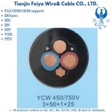 Ycw 3X50+1X25 Heavey Rubber Sheathed Cable