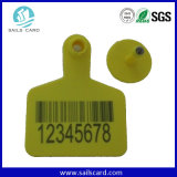 Passive Programmable RFID Animal ID Ear Tag for Cattle