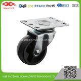 Swivel Plate with Side Caster (P111-30B063X28Z)