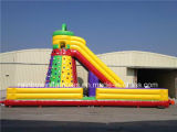 Hot Design Inflatable Crazy Slide Mountain Climbing Wall, Inflatable Rental of Toys
