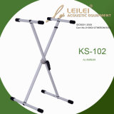 Knock-Down Single X Keyboard Stand (KS-102)