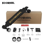 Wholesale Wheel Hub Motor Drop Shipping Electric Dual Drive Skateboard Long Boosted Board Canadian Maple Skateboard