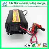 Smart 10A 24V Gel Battery Charger with CE Approved (QW-681024)