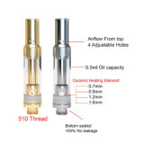0.5ml/1.0ml Glass Cbd 510 Oil Cartridge/Vaporizer/Atomizer