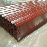 Prepainted Corrugated Steel Sheet for Construction Steel Product Dx51d Metal Steel