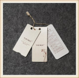 Paper Hang Tag Printed Logo Clothing