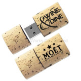 Natural Cork USB Flash Drive Man-Made Cork Flash Disk