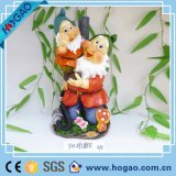 New Squatting Garden Gnome Outdoor Decor Funny Yard Sculpture