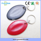 Programmable RFID Door Key Fob Plastic Key Fobs for Access Control
