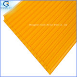4mm/6mm/8mm/10mm Twin-Wall Polycarbonate Hollow Sheet