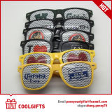 Party Pinhole Sticker Sunglasses with Customized Logo for Christmas Gift
