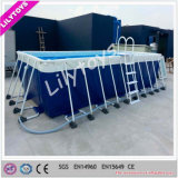 Customized Commerce Used Metal Frame Swimming Pool for Sale