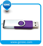 Sample Offer Metal Mateiral Swivel USB Pendrive 16GB