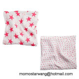 Promotional Baby Swaddle Blanket Made of Muslin Cotton with Elegant Design