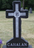 Black Granite Celtic Cross Headstones Grave Monument